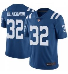 Men Indianapolis Colts Julian Blackmon Color Rush Vapor Untouchable Jersey Royal Limited