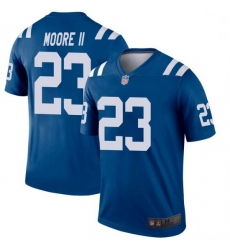 Men Indianapolis Colts Kenny Moore II Legend Jersey Royal