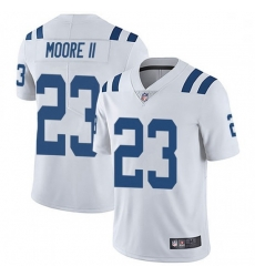 Men Indianapolis Colts Kenny Moore II Limited Color Rush Vapor Untouchable Jersey White