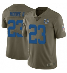 Men Indianapolis Colts Kenny Moore II Limited Salute To Service Jersey