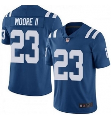 Nike Indianapolis Colts 23 Kenny Moore II Royal Vapor Untouchable Limited Jersey