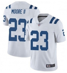 Nike Indianapolis Colts 23 Kenny Moore II White Vapor Untouchable Limited Jersey
