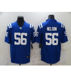 Nike Indianapolis Colts 56 Quenton Nelson Royal Color Rush Limited Jersey