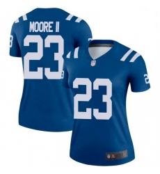 Women Indianapolis Colts Kenny Moore II Legend Jersey Royal