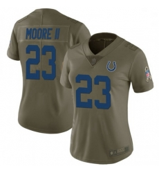 Women Indianapolis Colts Kenny Moore II Limited Salute To Service Jersey