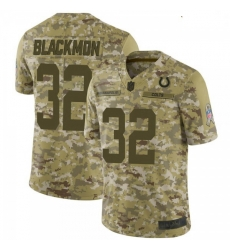 Youth Indianapolis Colts Julian Blackmon 2018 Salute to Service Jersey Camo Limited