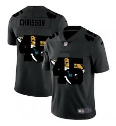 Jacksonville Jaguars 45 K 27Lavon Chaisson Men Nike Team Logo Dual Overlap Limited NFL Jersey Black