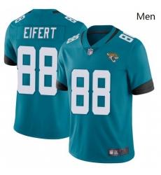 Men Nike Jaguars 88 Tyler Eifert Vapor Untouchable Limited Jersey Teal