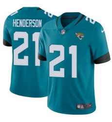 Nike Jaguars 21 C J  Henderson Teal Green Alternate Men Stitched NFL Vapor Untouchable Limited Jersey
