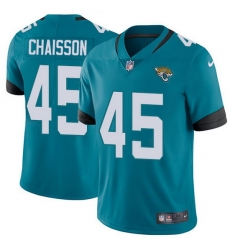 Nike Jaguars 45 K 27Lavon Chaisson Teal Green Alternate Men Stitched NFL Vapor Untouchable Limited Jersey