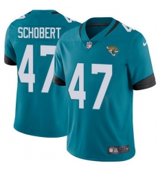 Nike Jaguars 47 Joe Schobert Teal Green Alternate Men Stitched NFL Vapor Untouchable Limited Jersey