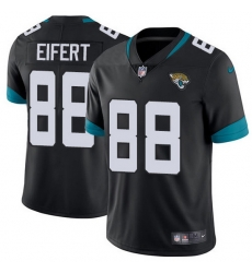 Nike Jaguars 88 Tyler Eifert Black Team Color Men Stitched NFL Vapor Untouchable Limited Jersey