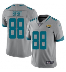 Nike Jaguars 88 Tyler Eifert Silver Men Stitched NFL Limited Inverted Legend Jersey