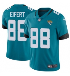 Nike Jaguars 88 Tyler Eifert Teal Green Alternate Men Stitched NFL Vapor Untouchable Limited Jersey