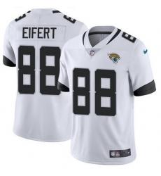 Nike Jaguars 88 Tyler Eifert White Men Stitched NFL Vapor Untouchable Limited Jersey