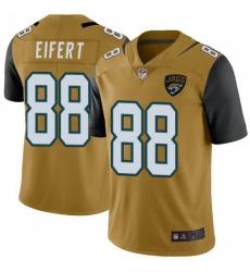 Youth Nike Jaguars 88 Tyler Eifert Vapor Rush Jersey Gold