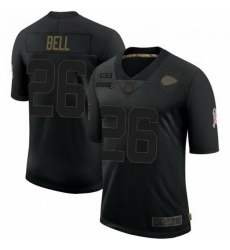 Men Kansas City Chiefs 26 Le'Veon Bell 2020 Salute To Service Limited Jersey