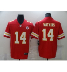 Men Kansas City Chiefs Sammy Watkins 14 Red Vapor Limited Jersey