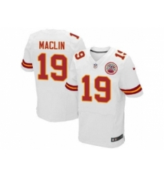 Nike Kansas City Chiefs 19 Jeremy Maclin white Elite NFL Jersey
