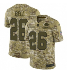 Nike Kansas City Chiefs 26 Le 27Veon Bell Camo Men Stitched NFL Limited 2018 Salute To Service Jersey
