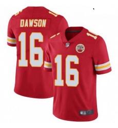 Youth Kansas City Chiefs 16 Len Dawson Red Vapor Limited Jersey
