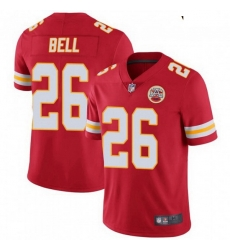 Youth Kansas City Chiefs 26 Le'Veon Bell Red Color Vapor Untouchable Limited Jersey