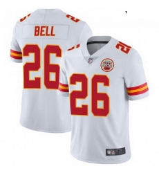 Youth Kansas City Chiefs 26 Le'Veon Bell White Color Vapor Untouchable Limited Jersey