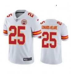 Youth Kansas City Chiefs Clyde Edwards-Helaire White 2020 NFL Vapor Limited Jersey