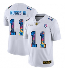 Las-Vegas-Las Vegas Raiders--2311-Henry-Ruggs-III-Men-27s-White-Nike-Multi-Color-2020-NFL-Crucial-Catch-Limited-NFL-Jersey-8988-29515