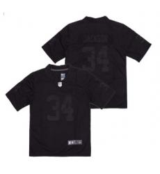 Las Vegas Raiders 34 Jackson Black City Edition Jersey