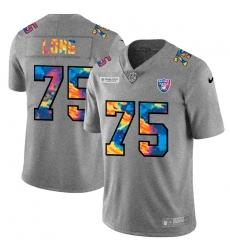 Las Vegas Raiders 75 Howie Long Men Nike Multi Color 2020 NFL Crucial Catch NFL Jersey Greyheather