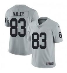 Men Las Vegas Raiders 83 Darren Waller Grey Vapor Untouchable Limited Stitched Jersey