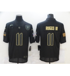 Nike Las Vegas Raiders 11 Henry Ruggs III Black 2020 Salute To Service Limited Jersey