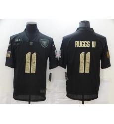 Nike Las Vegas Raiders 11 Henry Ruggs III Black Camo 2020 Salute To Service Limited Jersey