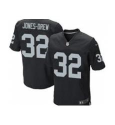 Nike Oakland Raiders 32 Maurice Jones-Drew Black Game NFL Jersey