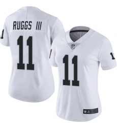 Women Las Vegas Raiders 11 Henry Ruggs III  White Limited Jersey