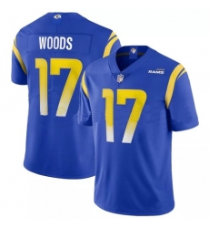 Nike Los Angeles Rams 17 Robert Woods Royal 2020 New Vapor Untouchable Limited Jersey
