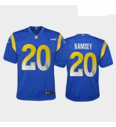 Youth Los Angeles Rams Jalen Ramsey 2020 Vapor Limited Jersey Royal