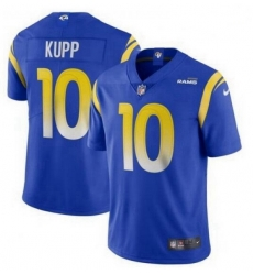 Youth Nike Los Angeles Rams 10 Cooper Kupp Royal 2020 New Vapor Untouchable Limited Jersey