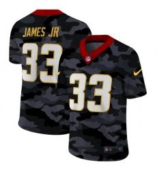 Los Angeles Chargers 33 Derwin James Jr Men Nike 2020 Black CAMO Vapor Untouchable Limited Stitched NFL Jersey