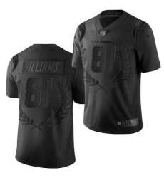 Mike Williams Los Angeles Chargers Black limited edition collection Jerse