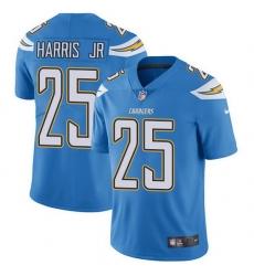 Nike Chargers 25 Chris Harris Jr Electric Blue Alternate Men Stitched NFL Vapor Untouchable Limited Jersey