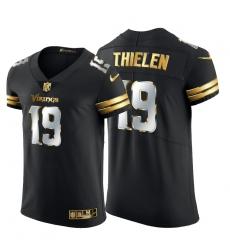 Minnesota Vikings 19 Adam Thielen Men Nike Black Edition Vapor Untouchable Elite NFL Jersey
