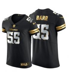 Minnesota Vikings 55 Anthony Barr Men Nike Black Edition Vapor Untouchable Elite NFL Jersey