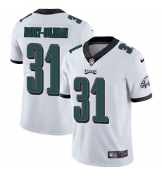 Nike Philadelphia Eagles 31 Nickell Robey Coleman White Men Stitched NFL Vapor Untouchable Limited Jersey