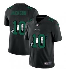 Philadelphia Eagles 10 Desean Jackson Men Nike Team Logo Dual Overlap Limited NFL Jersey Black