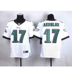 nike nfl jerseys philadelphia eagles 17 agholor white[Elite]