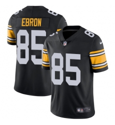 Nike Pittsburgh Steelers 85 Eric Ebron Black Alternate Men Stitched NFL Vapor Untouchable Limited Jersey