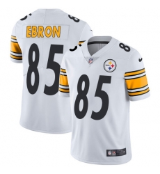 Nike Pittsburgh Steelers 85 Eric Ebron White Men Stitched NFL Vapor Untouchable Limited Jersey