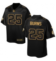 Nike Steelers #25 Artie Burns Black Mens Stitched NFL Elite Pro Line Gold Collection Jersey